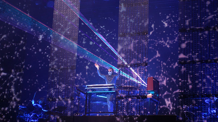 Jean-Michel Jarre in Bonn
