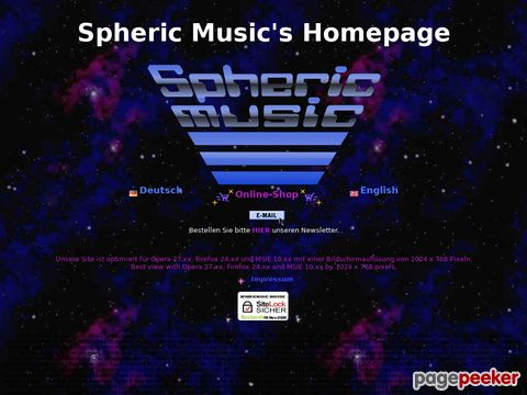 Spheric Music