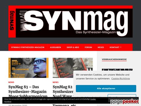 Synthesizer Magazin