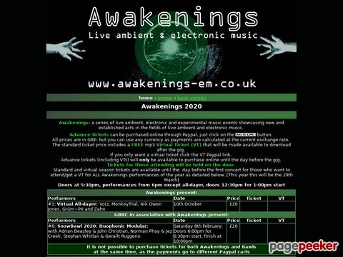 Awakenings (UK)