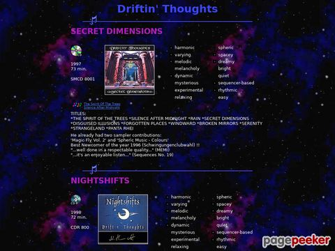 Driftin` Thoughts
