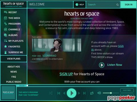 Hearts of Space (engl.)
