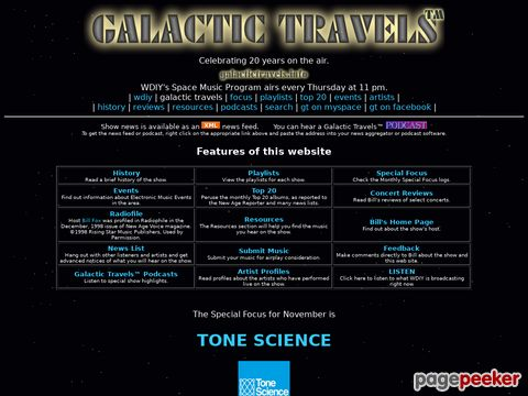 Galactic Travels (engl.)