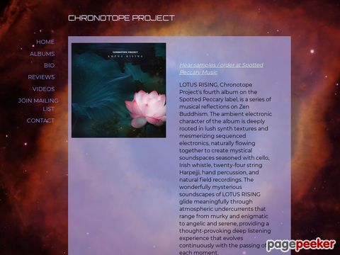 Chronotope Project